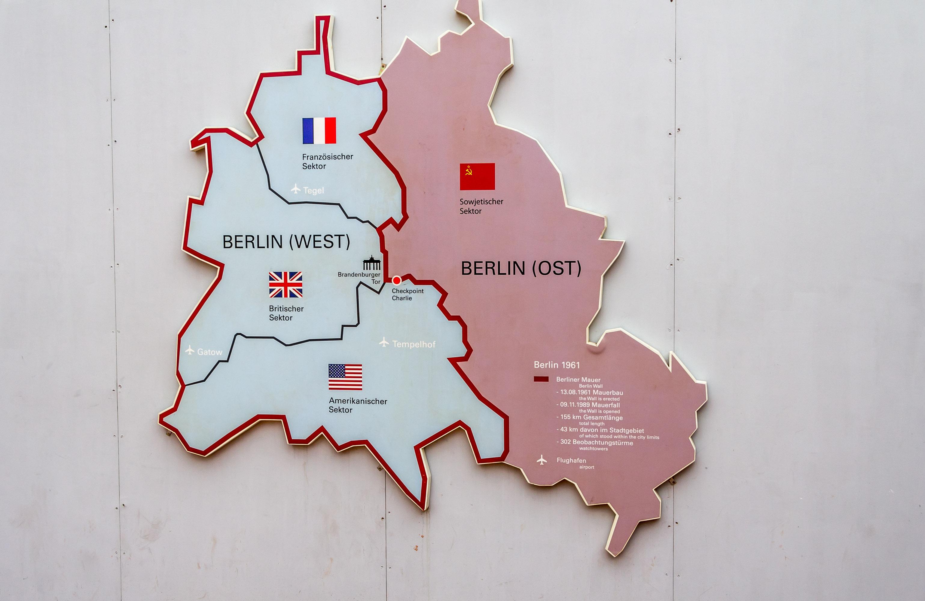 Hvor Gik Berlinmuren Bexdyie